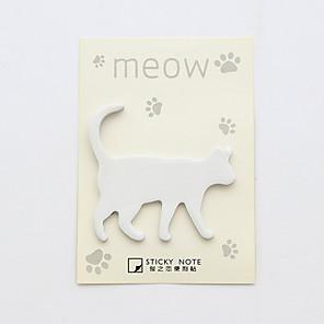 ieftine Materiale De Album De Amintiri-1 set de pisici design autocolant set de note (culoare aleatoare)