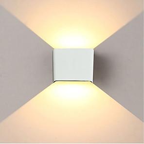 ieftine Abajure Perete-jiawen 6w 480lm condus lumina de perete simplu / modern / sus în jos condus scari lampă de noptieră dormitor lectură perete lampă veranda scari decorare lumina ac85-265v