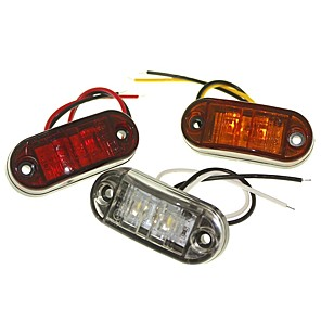 billige LED Bil Pærer-sencart 1 stk truck / motorcykel / bil pærer 1w dip led 120lm 2 udvendige lys dekoration lys for universelle alle år