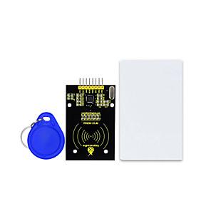 cheap Modules-Keyestudio MFRC522 RFID S50 Fudan Card IC Card Module with SPI Port for Arduino UNO R3 MEGA 2560 R3