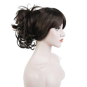 ieftine Extensii de Păr-Coadă de cal / Fir de păr Păr Sintetic Fir de păr Extensie de păr Drept / Clasic Zilnic