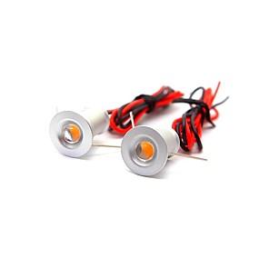 ieftine Becuri LED Încastrate-ONDENN 2pcs 1 W 100 lm 1 LED-uri de margele Decorativ Lumini Recessed Alb Cald Alb Rece 12 V Acasă / Birou Cameră Copii Bucătărie / CE