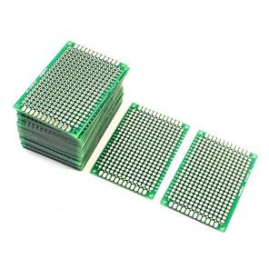 ieftine Conectoare & Terminale-10pcs protoboard față-verso prototype PCB bord 4cm x 6cm