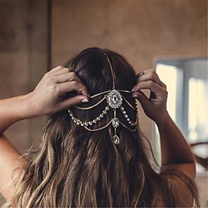 ieftine Bijuterii de Păr-Pentru femei Declarație Elegant Ștras Aliaj Nuntă Petrecere