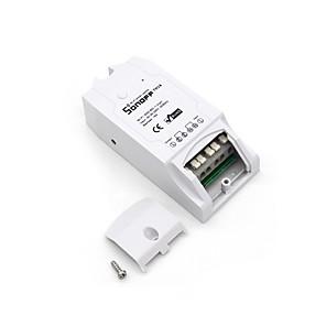 ieftine Switch inteligent-sonoff® th16 diy 16a 3500w inteligentă acasă wifi wireless termostat de temperatură aplicație priză comutator de control la distanță