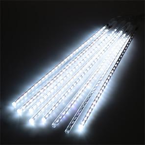 ieftine Lumini Tub LED-hkv® impermeabil 30cm 8 tub vacanță ploaie ploaie ploaie condus lumini șir pentru grădini interioare în aer liber Xmas christimas partid decor copac