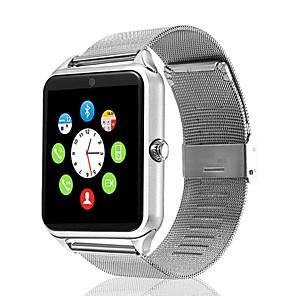 ieftine Ecrane Protecție Tabletă-Gt09 ceas inteligent din oțel inoxidabil bluetooth fitness tracker suport notificare / monitorizarea ritmului cardiac smartwatch sport compatibil cu telefoanele iPhone / Samsung / Android