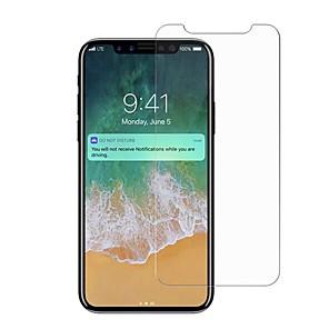 povoljno Zaštita zaslona za iPhone X-Screen Protector za iPhone X Kaljeno staklo 1 kom. Prednja zaštitna folija Visoka rezolucija (HD) / 9H tvrdoća / Έκρηξη απόδειξη