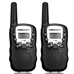 ieftine Walkie Talkies-bellsouth t388 handheld 2 buc t-388 3-5 km 22 frs and gmrs uhf radio pentru copil walkie talkie radio bidirectional intercom