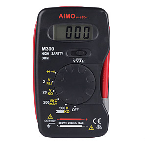 ieftine Multimetre Digitale & Osciloscoape-scopometer m300 2000 contează forma subțire într-un singur multimetru digital proiectat manual