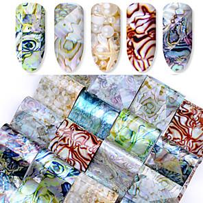 ieftine Îngrijire Unghii-16 pcs Sfaturi utile artificiale Acțibilde nail art pedichiura si manichiura Design Modern Șic & Modern