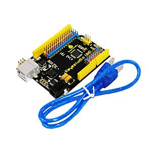 ieftine Imbracaminte & Accesorii Căței-keyestudio uno r3 oficial versiune imbunatatita cu interfata antet pin pentru compatibil arduino