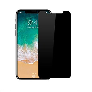 povoljno Zaštita zaslona za iPhone X-Screen Protector za Apple iPhone X Kaljeno staklo 1 kom. 9H tvrdoća / 2.5D zaobljeni rubovi / Otporno na ogrebotine