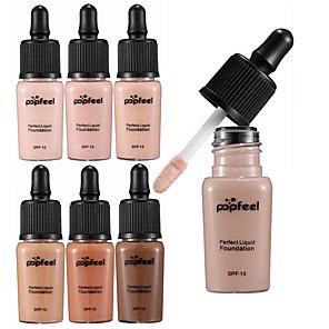 ieftine Produse Fard-6 culori BB Cream Concealer / contur Uscat / Ud / Combinație Impermeabil / Albire / Reducerea Ridurilor Fond de Ten / Anticearcăn Fără Amoniac / Fără Formaldehidă Machiaj Cosmetic Lichid