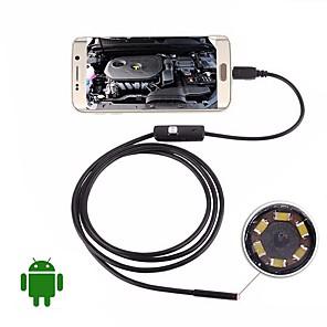 povoljno Mikroskopi i endoskopi-usb endoskop kamera 5m tvrdi kabel vodootporni ip67 inspekcija borescope 5.5mm objektiv noći video zmija cam za android pc