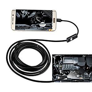 ieftine Urgență & Supraviețuire-jingleszcn 7mm rezistent la apa endoscop usb camera de android 1m cablu inspecție borescope șarpe cam pc ferestre