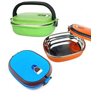 ieftine Cutii Depozitare Bucătărie-Organizarea bucătăriei Cutii de Prânz Oțel Inoxidabil Uşor de Folosit 1 buc