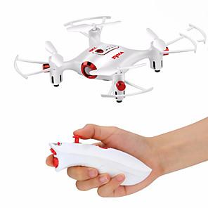 baratos RC Quadcopter-RC Drone SYMA X20-S 4ch 6 Eixos 2.4G Quadcópero com CR Luzes LED / Retorno Com 1 Botão / Modo Espelho Inteligente Quadcóptero RC / Cabo USB / Chave de Fenda / Vôo Invertido 360° / Vôo Invertido 360°