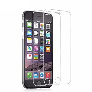 Недорогие Защитные пленки для iPhone 6s / 6-AppleScreen ProtectoriPhone 6s HD Защитная пленка 2 штs Закаленное стекло / Уровень защиты 9H / 2.5D закругленные углы / Ультратонкий