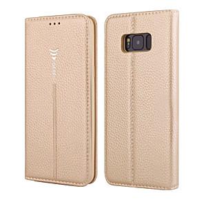 povoljno Samsung oprema-Θήκη Za Samsung Galaxy S8 Plus / S8 / S7 edge Novčanik / Utor za kartice / Zaokret Korice Jednobojni Tvrdo prava koža