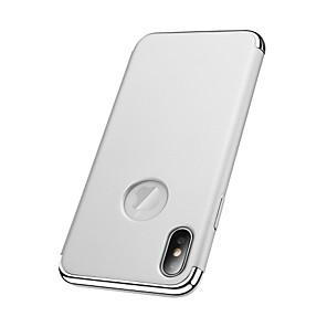 Etui Til Apple iPhone X / iPhone 8 Plus / iPhone 8 Belegg Bakdeksel Ensfarget Hard PC