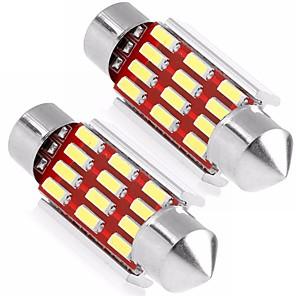 ieftine Becuri De Mașină LED-2pcs Staționar Becuri 6W SMD 4014 12 Lumini exterioare For Παγκόσμιο Παγκόσμιο Universal