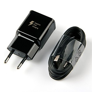 ieftine încărcător cu cablu-Încărcător Portabil Încărcător USB Priză EU Kit de Încărcare 1 Port USB 2 A pentru