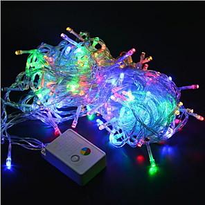 baratos Fitas e Mangueiras de LED-Luzes de natal 20 m / 200 leds levou corda 220 v para o feriado / festa / casamento / ano novo decoração de casa