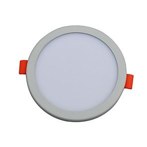 ieftine Lumini de Panou-JIAWEN 1 buc 8 W 640 lm 40 LED-uri de margele Încastrat Lumini Panel Alb Cald Alb Rece 85-265 V Acasă / Birou