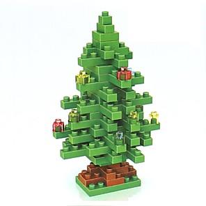 ieftine Costume Moș-Lego LOZ Diamond Blocks Crăciun Temă Florală Vacanță compatibil Legoing Non Toxic Reparații Crăciun Jucarii Cadou