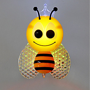ieftine Lumini Nocturne LED-Wall Plug Nightlight Pentru copii / Schimbare - Culoare / Controlul luminii Modern contemporan 1 buc