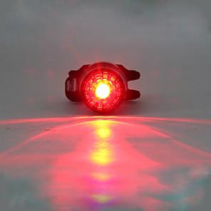 ieftine Lumini de Bicicletă-LED Lumini de Bicicletă Iluminat Bicicletă Spate lumini de securitate LED Ciclism montan Bicicletă Ciclism Rezistent la apă Moduri multiple Portabil Atenţie Litiu USB 180 lm Built-in baterie