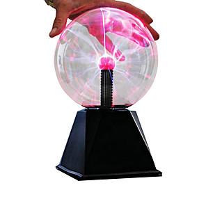 "cheap Display Models-6"" LED Lighting Plasma Ball Educational Toy with Sound Sensor Large Size Kid's Boys' Girls' Toy Gift 1 pcs"