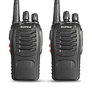 ieftine Walkie Talkies-BAOFENG 2 Pcs BF-888S Portabil Avertizare Baterie Slabă / PC Software Programabil / Promter Voce 3KM - 5KM 3KM - 5KM 5 W Statie emisie-receptie Radio cu două căi / 400 - 470 MHz / VOX / Cronograf