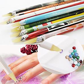 povoljno Šminka i njega noktiju-1 1pc Kozmetika Lagan snaga i izdržljivost Jedinstven dizajn Klasik Dnevno dotting alate za