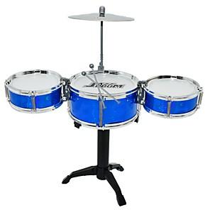 ieftine Gadget Baie-Set de tobe Παιχνίδι μουσικό όργανο Rotund Set de tobe Jazz Drum Fete Băieți