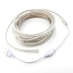 ieftine Benzi Lumină LED-7m 420 LED-uri 5050 SMD Alb Cald / Alb / Roșu Rezistent la apă / Ce poate fi Tăiat 220 V