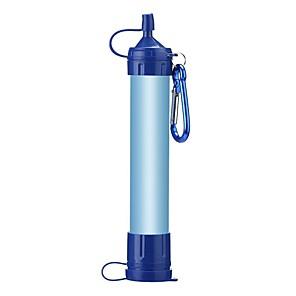 ieftine Bucătărie Camping-Filtre si purificatoare de apa portabile Filtru de Apă Portabil Plastice Fibra de carbon silicagel Exterior pentru Camping & Drumeții Pescuit Drumeție 1 pcs Albastru