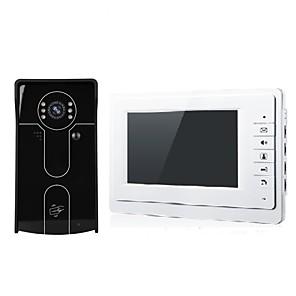 povoljno Ethernet kablovi-XSL-V70F Žičano 7-inčni Hands-free 800*480 One to One video doorphone