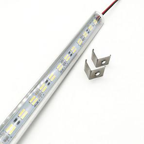 ieftine Benzi Luminoase-zdm® 1m bare rigide de led 144 leduri 5630 smd 5730 smd 14mm cald alb rece rece alb rece 12 v 1 buc ip44