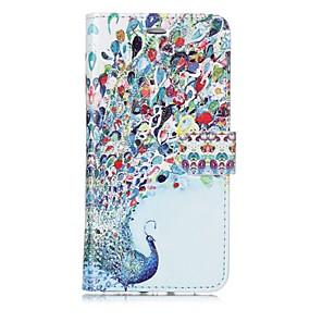 abordables Pochettes / Coques d'iPad-Coque Pour Apple iPhone X / iPhone 8 Plus / iPhone 8 Portefeuille / Porte Carte / Clapet Coque Intégrale Animal Dur faux cuir