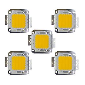 economico Driver LED-5 pezzi 2400 lm Accessorio lampadina Ottone Chip LED 30 W