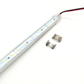 ieftine Benzi Lumină LED-zdm 50cm 36 x 8520 super luminos smd 15mm leds lampă tare mască transparentă îngroșată coajă de aluminiu dc12 v