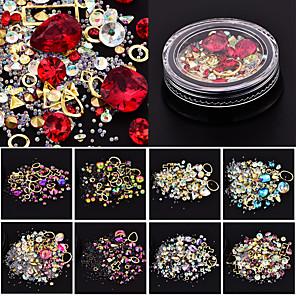ieftine Îngrijire Unghii-Ținute seturi / Nail Art Design Cristal / Modă / Glitter de unghii Zilnic