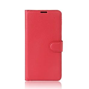 ราคาถูก เคสและซองสำหรับ Xiaomi-Case สำหรับ Xiaomi Xiaomi A1 Wallet / Card Holder / with Stand ตัวกระเป๋าเต็ม สีพื้น Hard หนัง PU