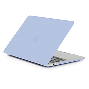 """povoljno MacBook Pro 15"""" maske-MacBook torbica za zrak pro retina 11 12 13 15 poklopac prijenosnog računala čvrsta boja prozirna mat crna PVC kutija za MacBook novi pro 13,3 15 inčni s dodirnom trakom"""