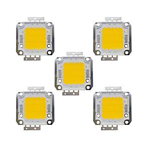 ieftine LED-uri-5pcs 1600lm Accesoriu pentru becuri Cip LED Alamă 20W