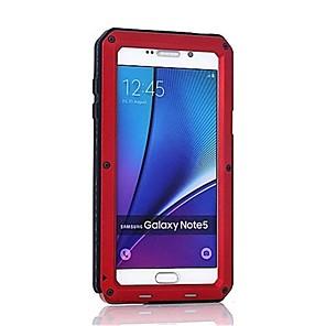 billige Android-Etui Til Samsung Galaxy Note 8 / Note 5 / Note 4 Stødsikker Fuldt etui Rustning Hårdt Metal