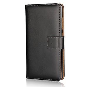 Недорогие Чехлы и кейсы для Galaxy S3-Кейс для Назначение Nokia Кошелек / Бумажник для карт / со стендом Однотонный Твердый Кожа PU