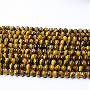 ieftine Kit-uri de Bijuterii-DIY bijuterii 65 buc Χάντρες Cristal Galben Rotund Şirag de mărgele 0.6 cm DIY Coliere Brățări